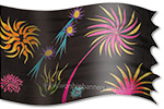 silk banner Design: Creativity